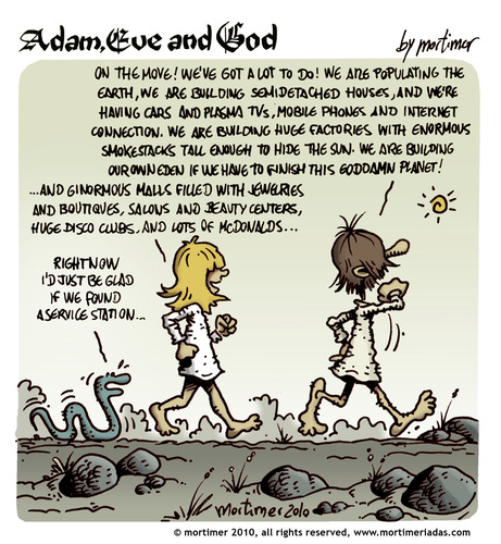 Adam Eve and God 39