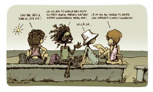 Cartoon: El Rayo Verde (medium) by mortimer tagged mortimer ...