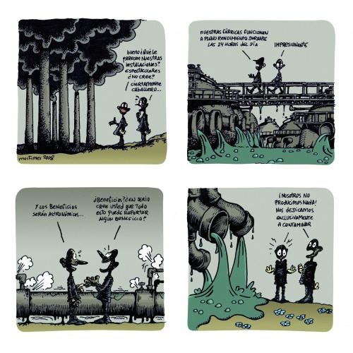 Cartoon: Pollution (medium) by mortimer tagged mortimer,mortimeriadas,cartoon,pollution