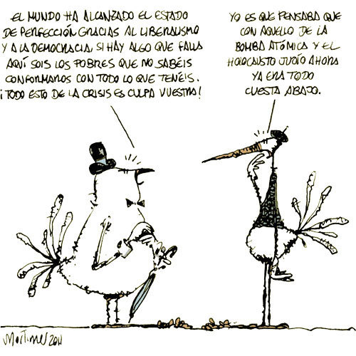 Cartoon: PROGRESO (medium) by mortimer tagged mortimer,mortimeriadas,cartoon