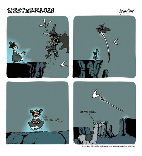 Cartoon: westernadas 05 (medium) by mortimer tagged mortimer,mortimeriadas,cartoon,westernadas,indian,psychedelic,underground,shaman,chaman,fly,vuelo,desierto,western,wilder westen,mexiko,illustration,illustrationen,comic,wilder,westen