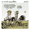 Cartoon: un mundo maravilloso 116 (small) by mortimer tagged mortimer,mortimeriadas,cartoon,comic,un,mundo,maravilloso,amigos,calor,verano,estaciones,otono,campo,alteracion,medioambiente