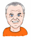 Cartoon: Hannibal Lecter - Anthony Hopkin (small) by perevilaro tagged lecter,hopkins,corderos
