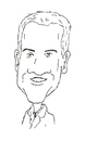 Cartoon: Neal McDonough (small) by perevilaro tagged neal,mcdonough