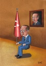 Cartoon: Teyyip (small) by menekse cam tagged teyyip,tayyip,recep,erdogan,political,corruption,turkey,criminal,investigation