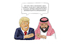 Cartoon: Trump und DMG (small) by Sven Raschke tagged donald,trump,dmg,prinz,salman,lügen,kashoggi,mord