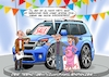 Cartoon: SUV (small) by C Berger tagged suv,kind,nachwuchs,familie