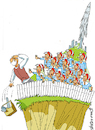 Cartoon: Enough (small) by Vladimir Khakhanov tagged ecology