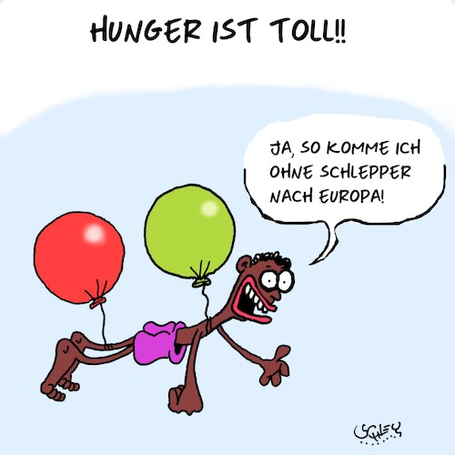 Hunger ist toll!