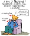 Cartoon: A bas la tyrannie!! (small) by Karsten tagged covid19,masques,politique,opposants,liberte,education,societe,sante