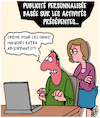 Cartoon: Algorithmes (small) by Karsten tagged internet,ordinateurs,technique,publicite,sex,relations,mariage,hommes