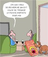 Cartoon: Chien de Recherche (small) by Karsten tagged amour,femmes,hommes,sexe,relations,chiens,animaux