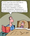 Cartoon: Contes de fees (small) by Karsten tagged litterature,enfants,familles,culture,vieillesse,sante,guerre
