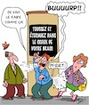 Cartoon: Coronavirus Precautions (small) by Karsten tagged corona,precautions,gouvernement,sante,politique