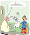 Cartoon: Defibrillateur (small) by Karsten tagged hopitaux,infirmieres,sante,patients,mort,medecins