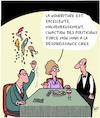 Cartoon: Desobeissance Civile (small) by Karsten tagged politicians,climat,desobeissance,gastronomie,environnement