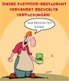 Cartoon: Fastfood-Restaurants sind gesund (small) by Karsten tagged fastfood,restaurants,gastronomie,gesundheit,ernährung,verpackungsmüll,konsum,business,gesellschaft