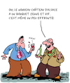 Cartoon: Le nouveau Vin (small) by Karsten tagged vin,caractere,degustation,france,industrie,juvenile,economique