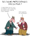 Cartoon: Mouvement Anti-Masques (small) by Karsten tagged coronavirus,covid19,emploi,politique,economie,chomage,sante