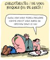 Cartoon: Pas de Blaspheme!! (small) by Karsten tagged blaspheme,religion,greta,politique,environnement,medias,caricaturistes,societe