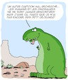 Cartoon: Petit Dejeuner (small) by Karsten tagged histoire,gens,animaux,dinosaures,science,manger,petit,dejeuner,dessins,cartoons,art