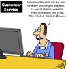 Cartoon: Problem (small) by Karsten tagged kundenservice,verkauf,verkäufer,marketing,service,kunden,wirtschaft,business,geld