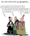 Cartoon: Sans Religion (small) by Karsten tagged religion,politique,economie,business,actifs,revenus