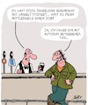 Cartoon: Studieren lohnt sich! (small) by Karsten tagged studium,umwelt,universitäten,bars,pubs,jobs,einkommen,taxifahrer,geld,soziales,bildung,gesellschaft