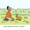 Cartoon: Wait a Minute! (small) by Karsten tagged nature,animals,wildlife,sex,humans,gardening,special,interests