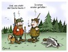 Cartoon: Wald-Börsianer (small) by Egero tagged börse,egero