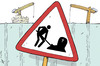 Cartoon: Deadly safety at work (small) by rodrigo tagged work,safety,death,workers,construction,accident