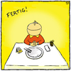 Cartoon: Fertig! (small) by Yavou tagged pizzapitch pitchapizz pizza yavou cartoon restaurant essen italia italien hunger fertig