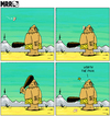 Cartoon: MRR 4 - ENG (small) by Yavou tagged stoneage,mrr,yavou,comicstrip,steinzeit,höhlenmensch,neandertaler,cro,magnon,caveman,club,keule,butterfly,schmetterling,prähistorisch,schmerz,pain,prehistoric
