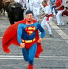 Cartoon: superman (small) by tanerbey tagged superman,bull,cloak,red