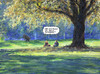 Cartoon: Im Park (small) by Bernd Zeller tagged park