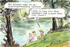 Cartoon: Indiziert (small) by Bernd Zeller tagged bushido,stress,indiziert,song,roth,wowereit
