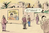Cartoon: Lage in Libyen (small) by Bernd Zeller tagged libyen,gaddafi,westerwelle,fdp