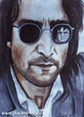 Cartoon: John Lennon - WHY? (small) by Portraits-Karikaturen tagged john,lennon,mark,david,chapman,musiker,beatles,portrait,portraits,portraitzeichnung,aquarell