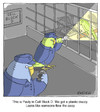 Cartoon: Jail Break (small) by noodles tagged jail,parakeets,prison,escape