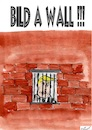 Cartoon: Bild a Wall (small) by Stefan von Emmerich tagged doland,trump,sience,corona,virus