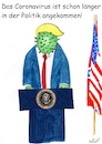 Cartoon: Das Coronavirus in der Politik (small) by Stefan von Emmerich tagged cartoon,corona,virus,donald,trump,karikatu