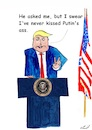 Cartoon: Putins back (small) by Stefan von Emmerich tagged vote,him,away,donald,trump,dump,president,america,the,liar,tweets,tonight