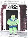 Cartoon: The honorable Mr.Johnson (small) by Stefan von Emmerich tagged boris,johnson,hulk,karrikatur,cartoon
