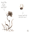 Cartoon: Cruel Valentine (small) by NEM0 tagged valentine,flower,bee,love,kill,cruelty