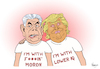 Cartoon: Fuckin Moron (small) by NEM0 tagged rex,tillerson,donald,trump,fuckin,moron,lower,iq,secretary,of,state,dept,nemo,nem0,petty,things,dirt,talk,washington,dc,swamp