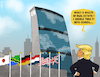 Cartoon: UNfit (small) by NEM0 tagged un,united,nations,donald,trump,president,states,real,estate,condos,ny,new,york,usa,nwo,world,order