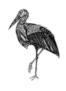 Cartoon: storch (small) by Battlestar tagged storch stork animals tiere