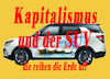 Cartoon: Kapitalismus und SUV (small) by Kucki tagged kapitalismus,suv