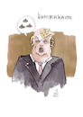 Cartoon: Trumps Hamster (small) by Koppelredder tagged trump,hamster,hamsterkäufe,klopapier,corona,covid19,frisur,posted