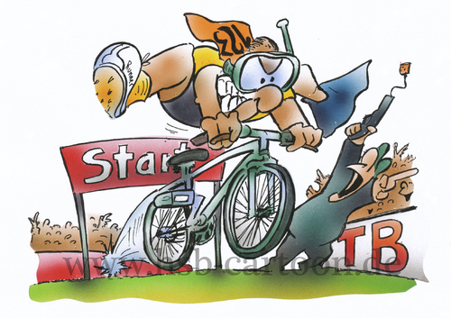 Cartoon: Triathlon (medium) by HSB-Cartoon tagged triathlon,swimming,running,bicycle,bike,sport,run,swim,laufen,rennen,sportart,triathlet,athlet,sportathlet,sportler,sportsmen,fahrrad,mehrkampf,airbrush,triathlon,swimming,running,bicycle,bike,sport,run,swim,laufen,rennen,sportart,triathlet,athlet,sportathlet,sportler,sportsmen,fahrrad,mehrkampf,airbrush